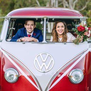 wedding kombi hire sunshine coast