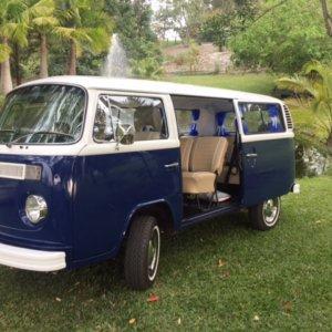 1976 Kombi Microbus car hire classic car