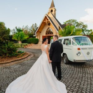 kombi wedding hire Byron Bay