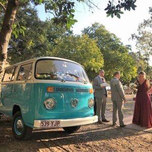 kombi wedding hire Brisbane Gold Coast Sunshine Coast