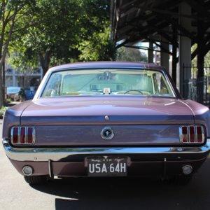 old skool Mustang