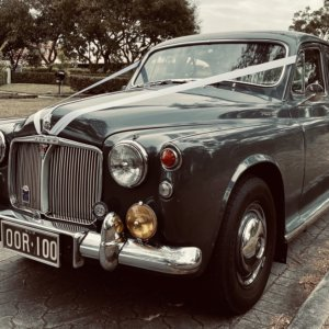classic car hire for wedding