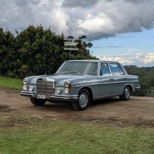 Classic Mercedes Benz Car Hire Sunshine Coast